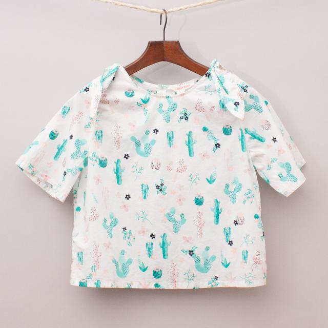 """Country Road Patterned Blouse """"Brand New"""""""