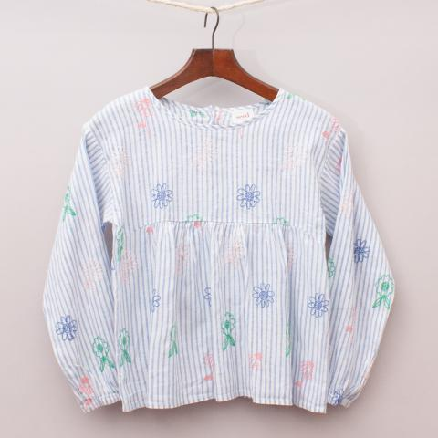 Seed Embroidered Blouse