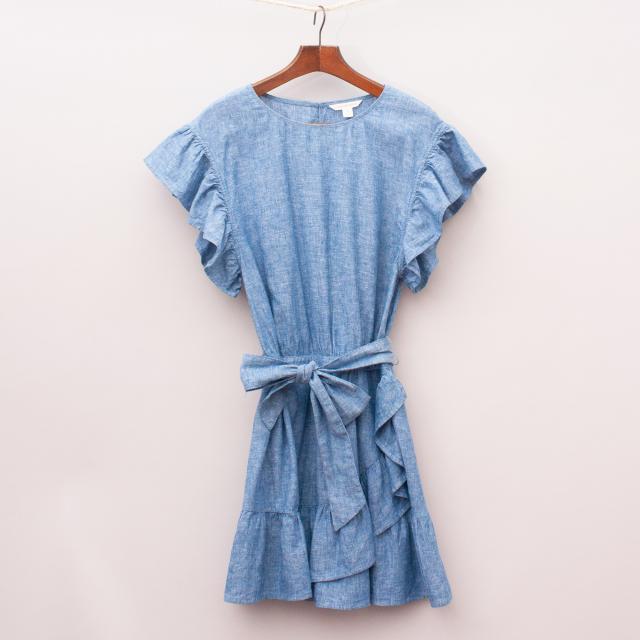Country Road Ruffle Dress
