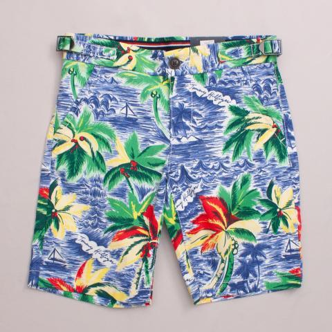 "Tommy Hilfiger Palm Shorts ""Brand New"""