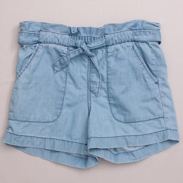 Country Road Chambray Shorts