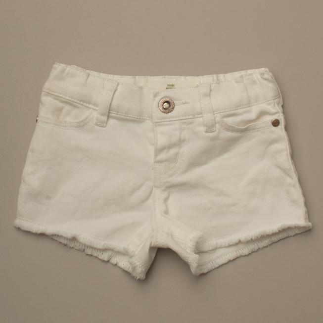 White Demin Shorts