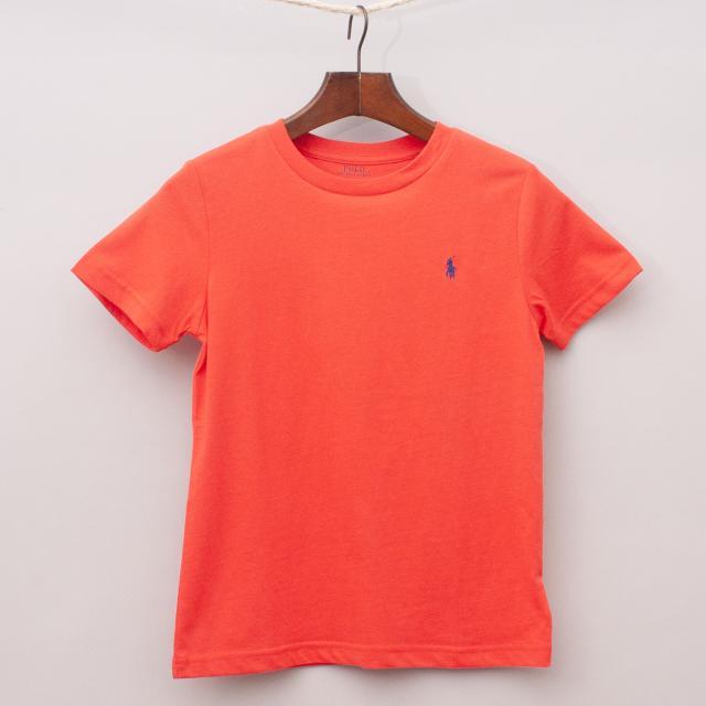 """Ralph Lauren Red T-Shirt """"Brand New"""""""