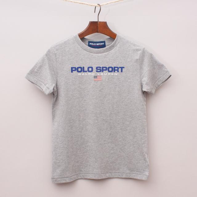 """Ralph Lauren Grey T-Shirt """"Brand New"""""""