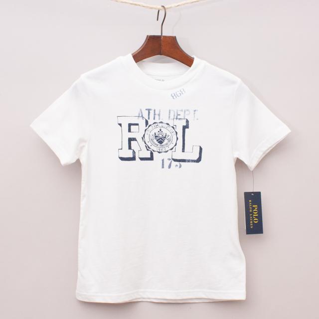 """Ralph Lauren White T-Shirt """"Brand New"""""""
