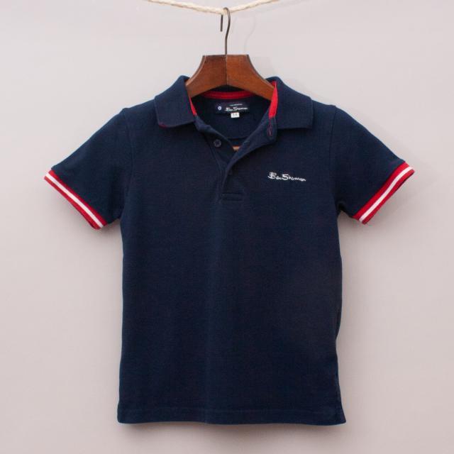 Ben Sherman Navy Blue Polo Shirt