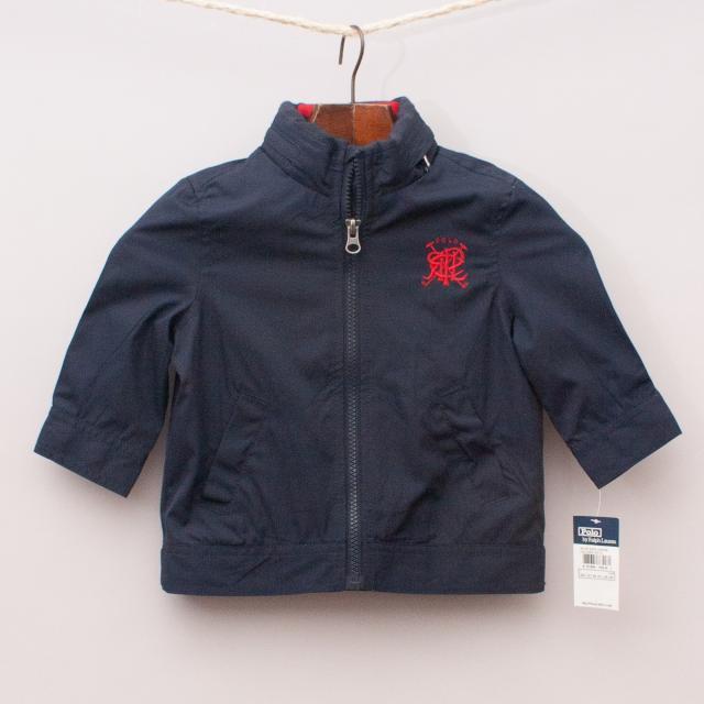 "Ralph Lauren Navy Blue Jacket ""Brand New"""