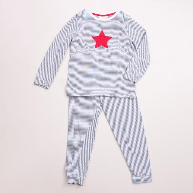 Little White Company Striped Pyjamas