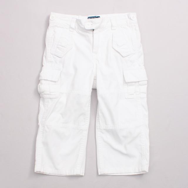 Ralph Lauren White Cargo Pants