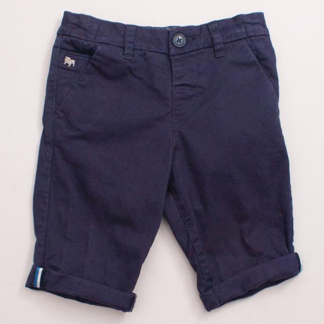 Jasper Conran Navy Blue Shorts
