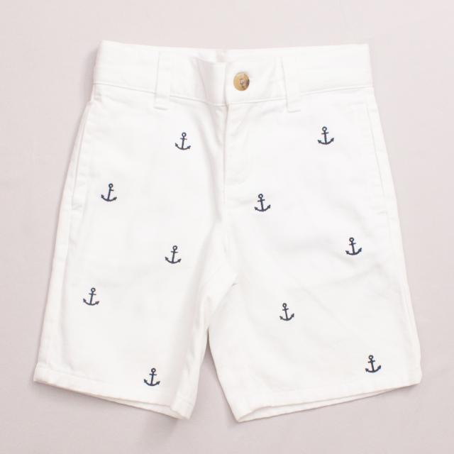 Janie & Jack Anchor Shorts
