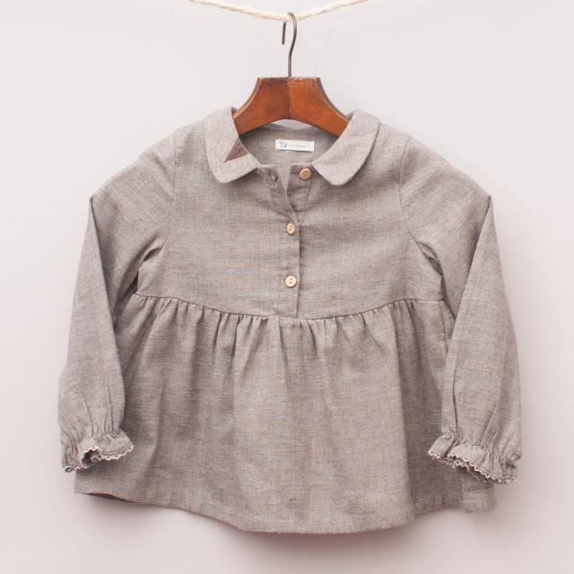 LinQian Linen Blend Shirt