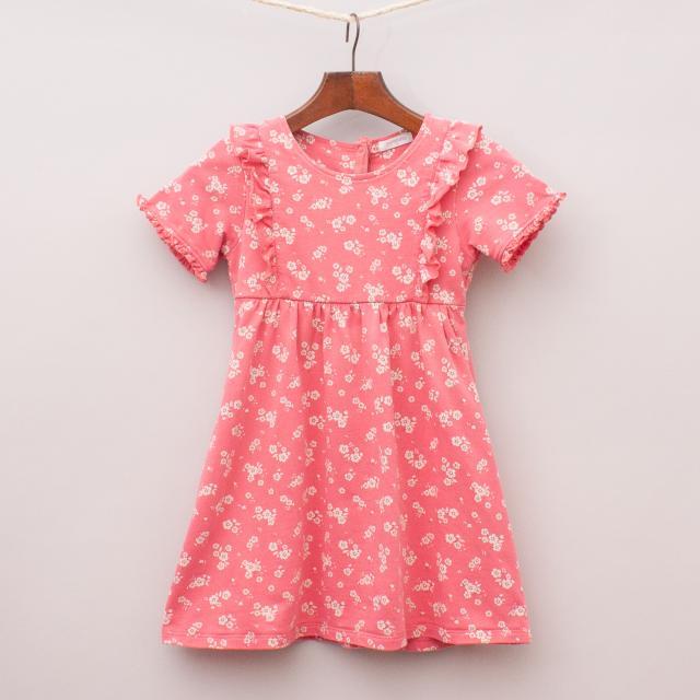 Purebaby Floral Dress