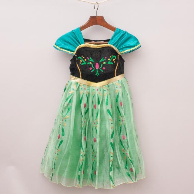 Vogue Fashion Green Princess Costume