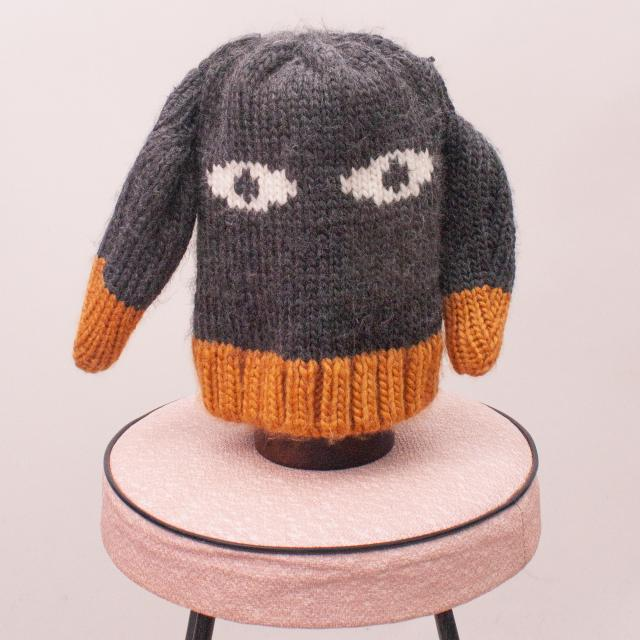 Cotton On Rabbit Beanie - Age 2-4 Approx.