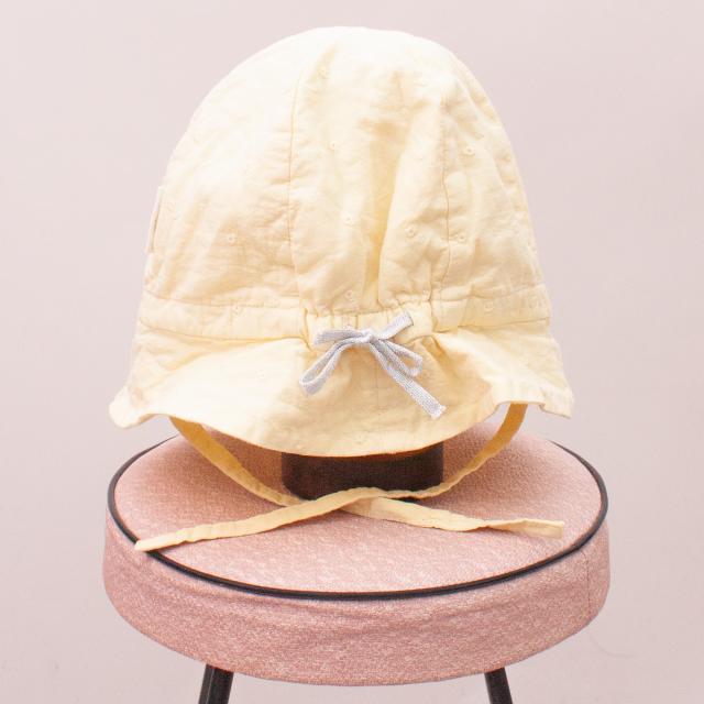 Purebaby Yellow Sun Hat - L