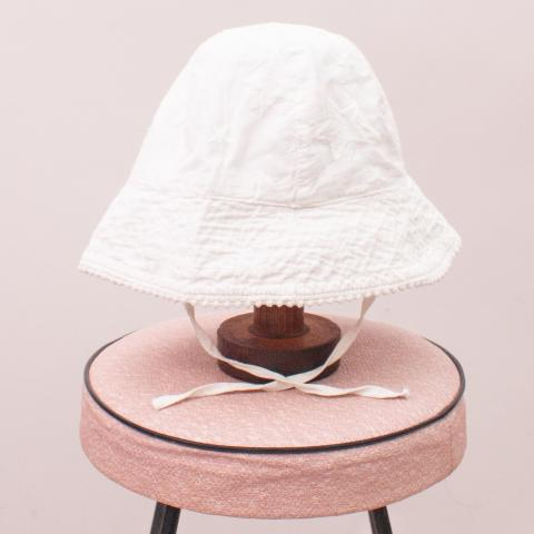 Seed White Sun Hat - S