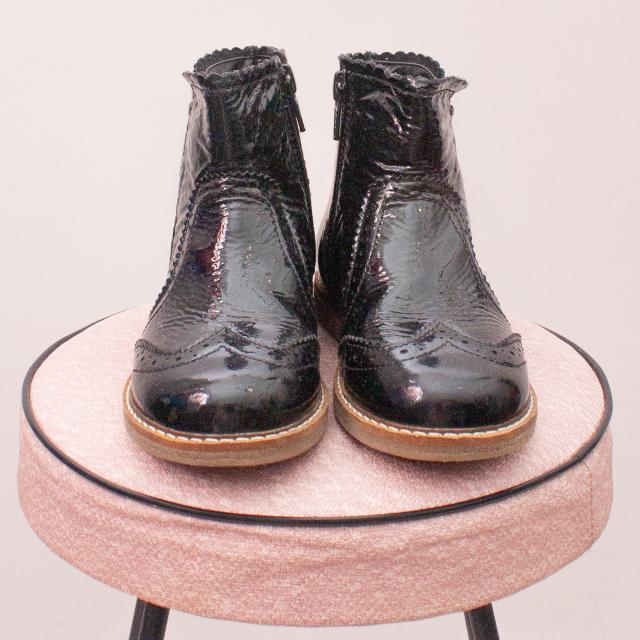 Next Patent Leather Boots - EU 26 (Age 3 Approx.)
