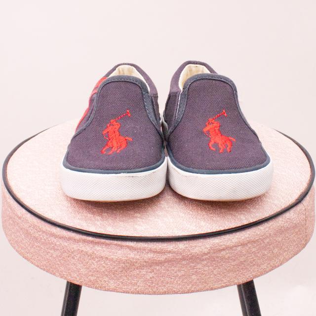 Ralph Lauren Polo Slip On Shoes - EU 23 (0-12Mths Approx.)