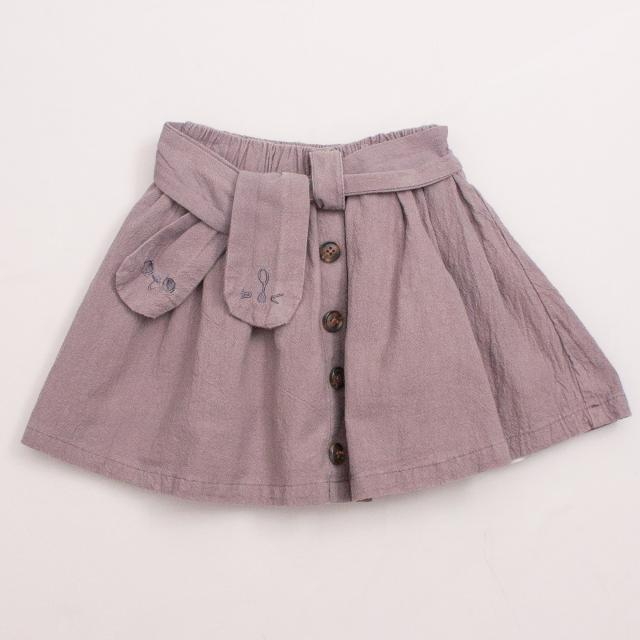 My Little Boi Charcoal Skirt