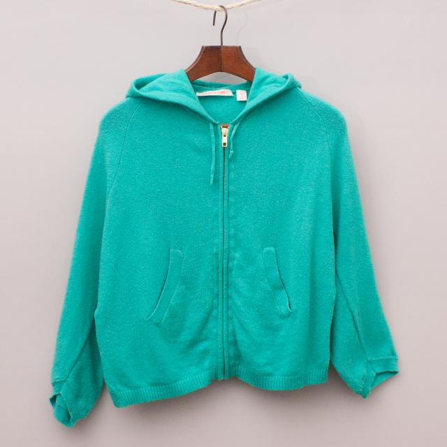 Country Road Green Jumper