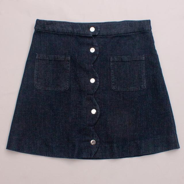 Jacadi Denim Skirt