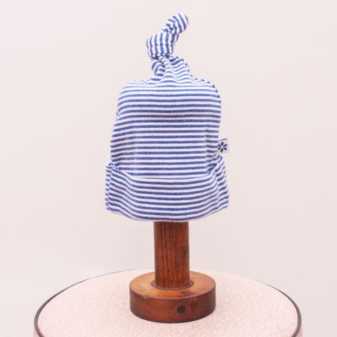 Marquise Striped Baby Hat - Small