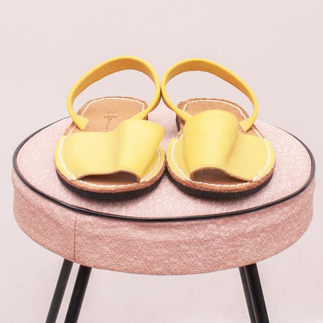 Menorkinas Leather Sandals - EU 28 (Age 4 Approx.)