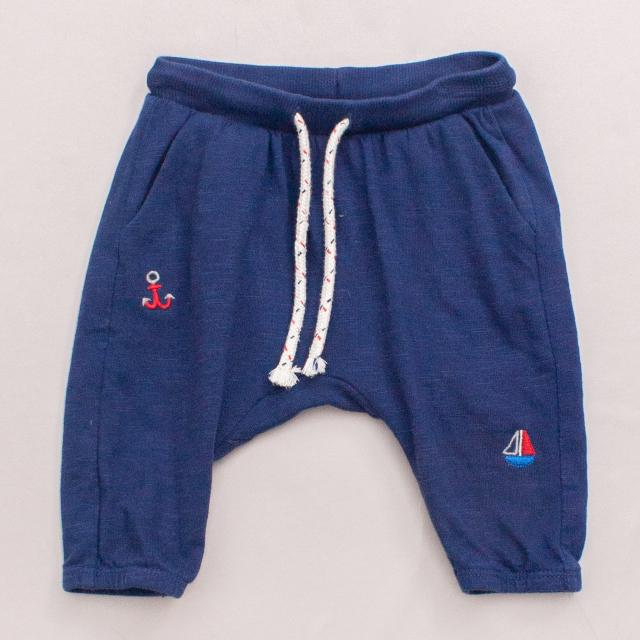 Purebaby Nautical Pants