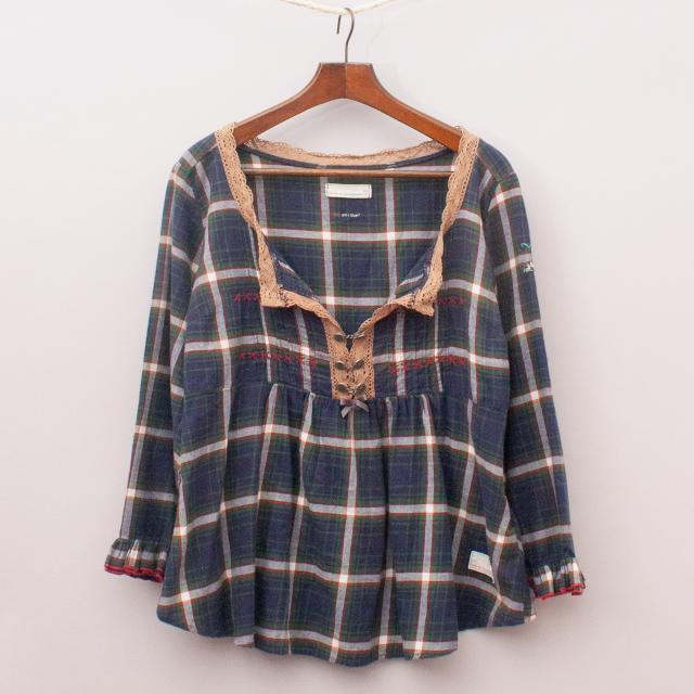 Odd Molly Plaid Shirt