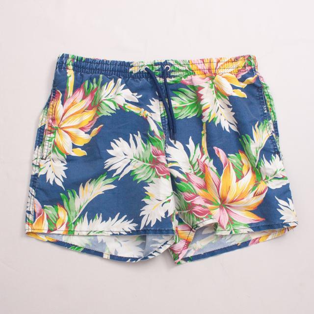 Zara Hawaiian Board Shorts