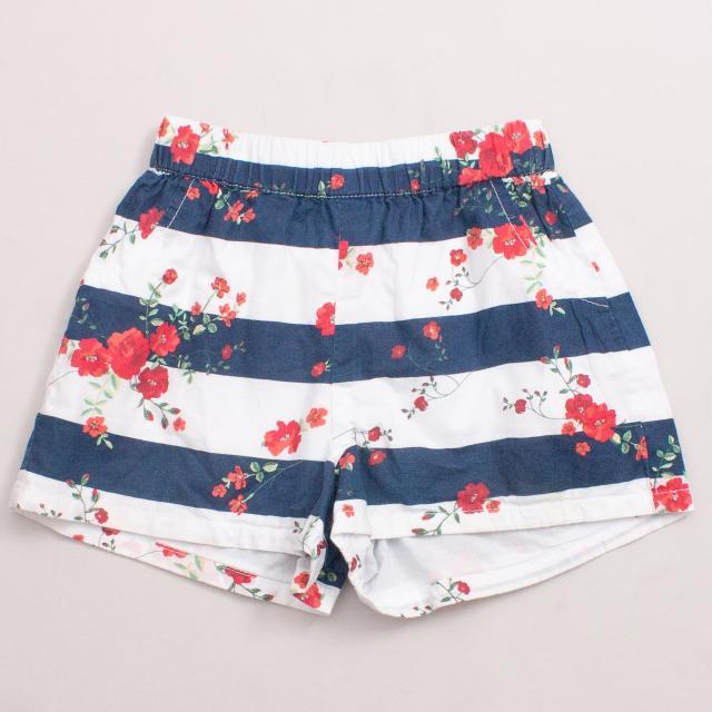 Teeny Weeny Floral Shorts
