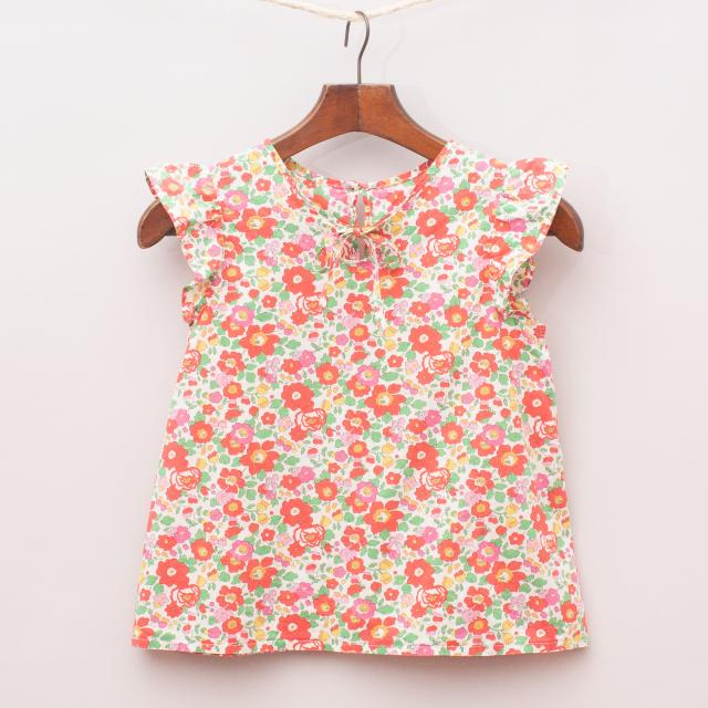 Liberty London Floral Patterned Top