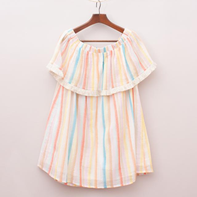 "Megan Park Striped Dress ""Brand New"""