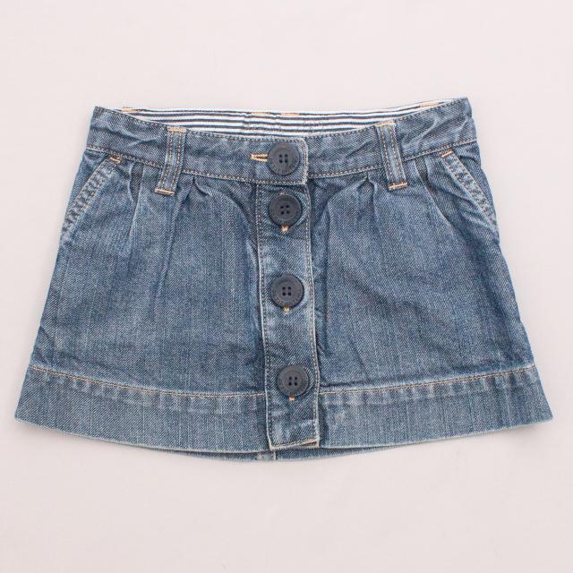 Petit Bateau Denim Skirt
