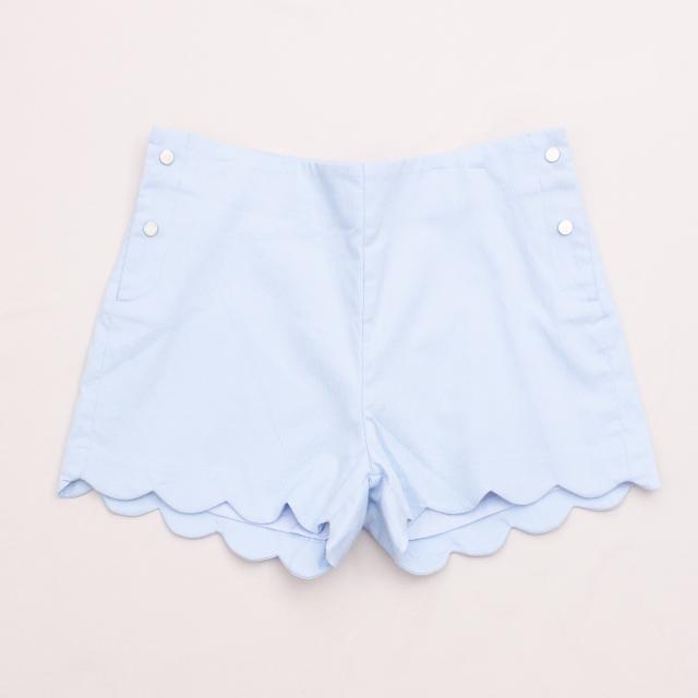 "Jacadi Pastel Blue Shorts ""Brand New"""