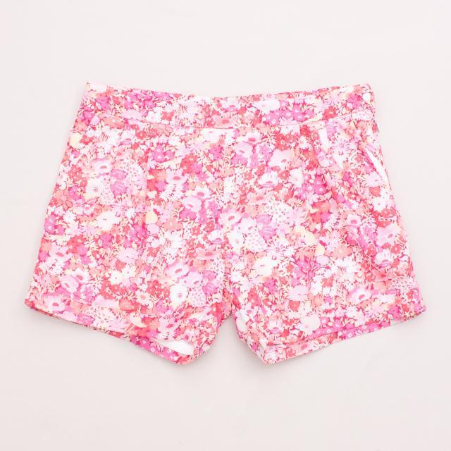 """Jacadi Floral Shorts """"Brand New"""""""