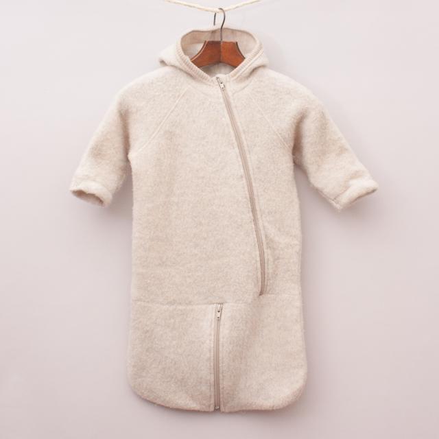 Mikk-Line Merino Wool Fuzzy Sleep Sack - Age 6-9Mths Approx..