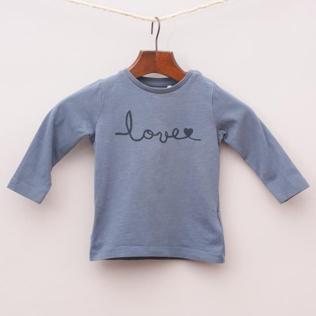 Name It 'Love' Long Sleeve