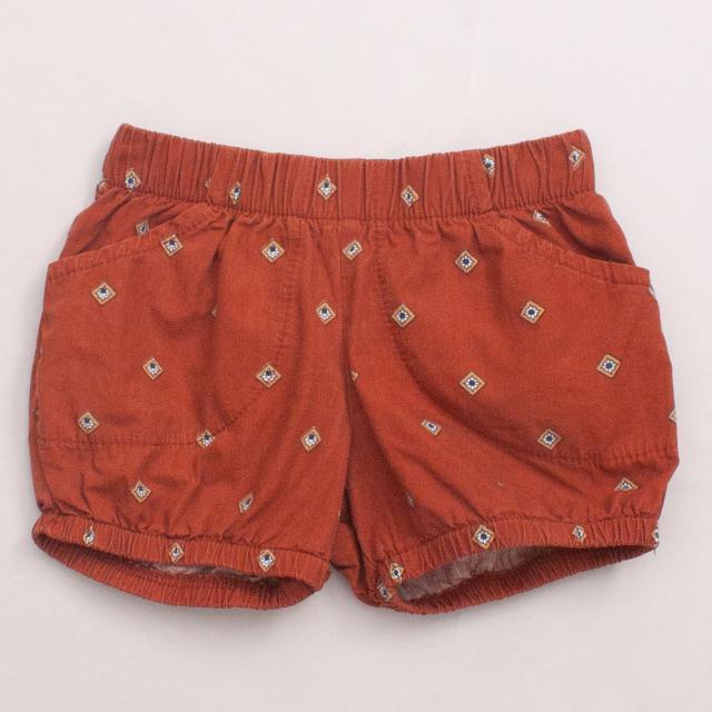 Krutter Patterned Shorts