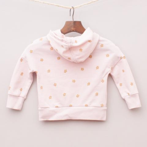 Country Road Flower Hooded Jumper