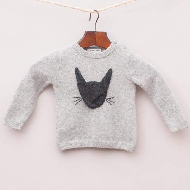 Country Road Cat Jumper