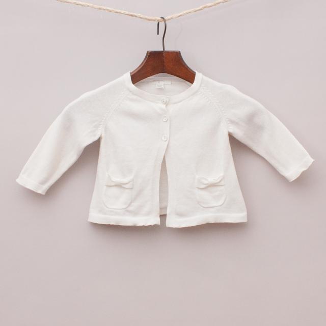 Purebaby Organic Cotton Cardigan