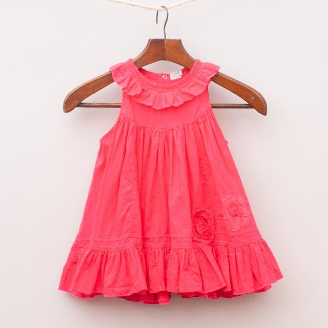 Taille Ruffle Dress