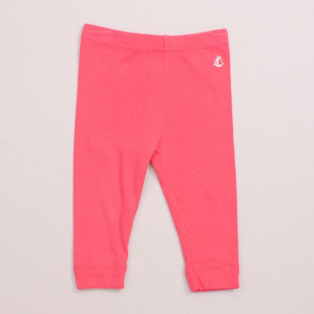 Petit Bateau Pink Leggings