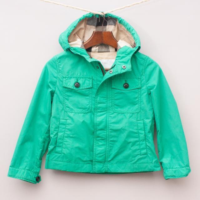 Burberry Green Jacket