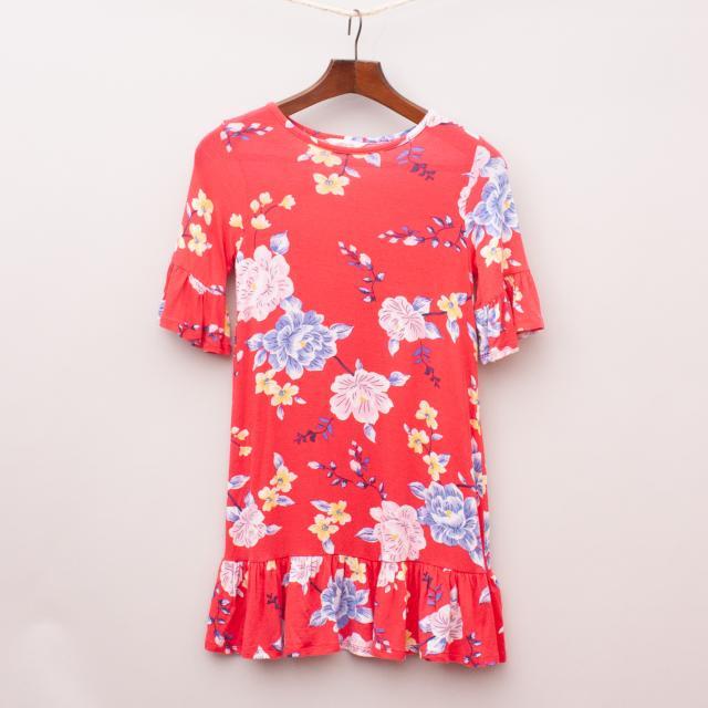 Milkshake Floral Dress