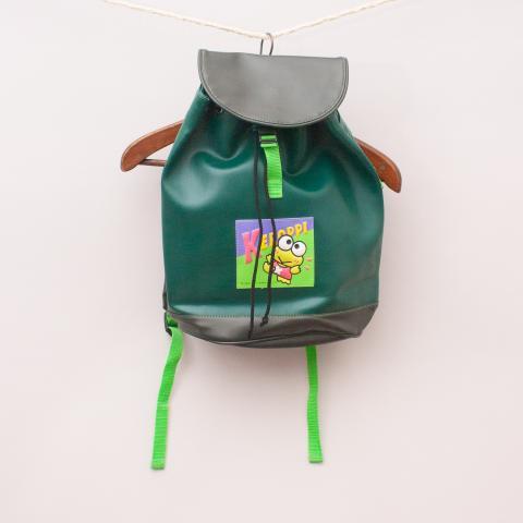 Vintage Keroppi Backpack - 40cm x 30cm Approx.