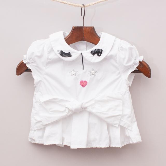 Angel & Rocket Embellished Shirt