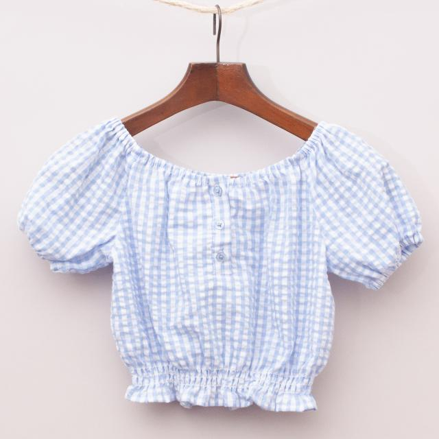 Seed Gingham Blouse